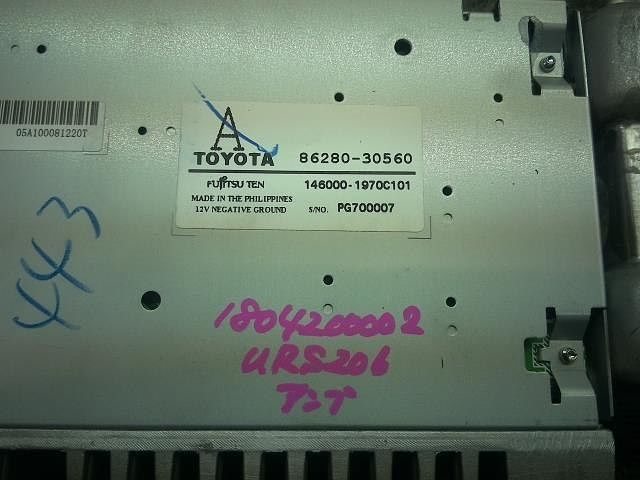 Amplifier Assy, Stereo Component, Toyota, 8628030560