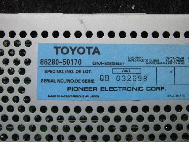 Amplifier Assy, Stereo Component, Toyota, 8628050170