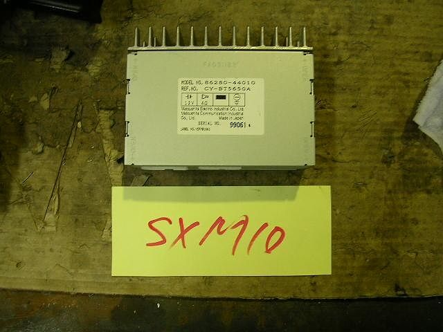 Amplifier Assy, Stereo Component, Toyota, 8628044010