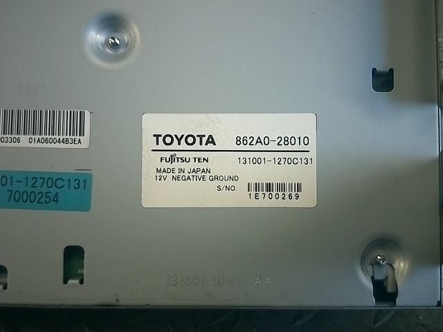 New Genuine Part, Toyota, 862A028010