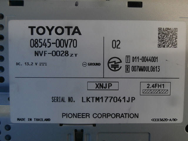 New Genuine Part, Toyota, 0854500V70
