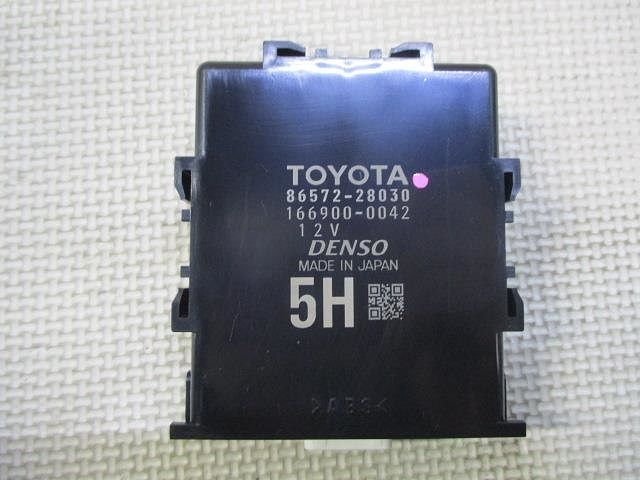 Controller, Vehicle Approaching Speaker, Toyota, 8657228030