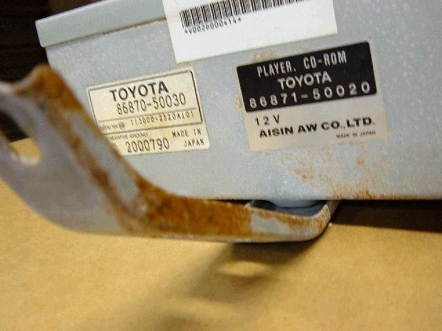 Player Assy, Cd-rom, Toyota, 8687050030