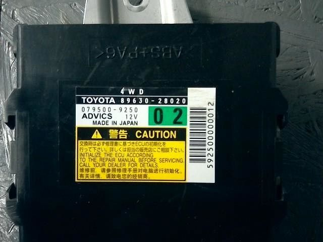 Computer Assy, 4Wd, Toyota, 8963028020