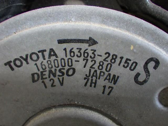 Motor, Cooling Fan, Toyota, 1636328150