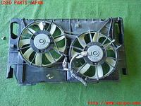 Motor, Cooling Fan, No.2, TOYOTA, 16363 28300, 16363 28370